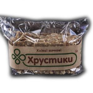 Хлебцы зерновые ТМ «Хрустики» 100 г.