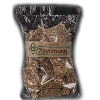 Хлебцы зерновые ТМ «Хрустики» 300 г.
