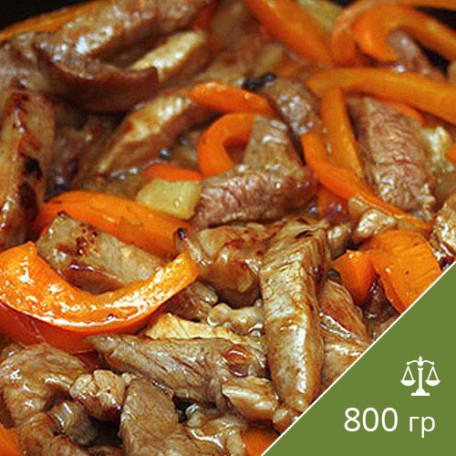 220 Мясо по-македонски
