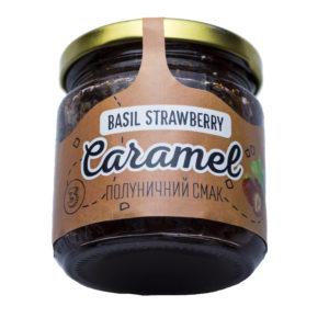 Жидкая Карамель «Basil Strawberry Caramel» 200г