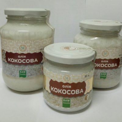 Кокосовое масло 450г