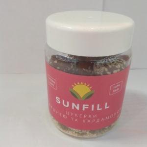 SunFill цукерки з вишнею та кардамоном 180г