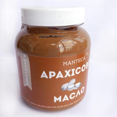 Арахисовое масло с черным шоколадом 500 гр.